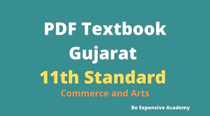 11th Commerce and Arts Textbook GSEB